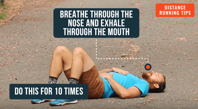 Breathing for Runners- Belly Breathing Drill 2