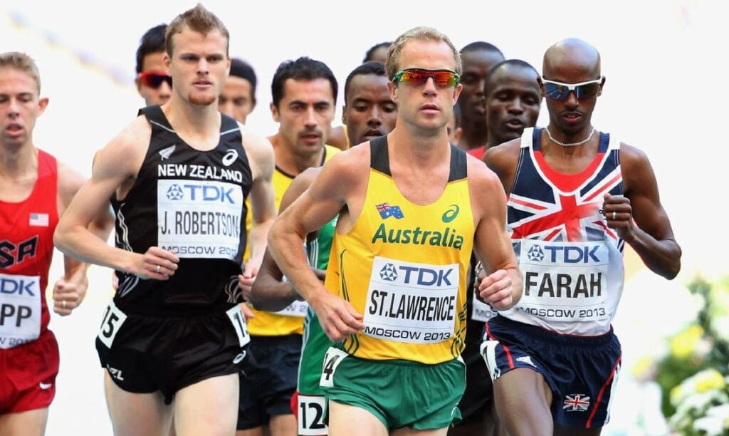 Ben St Lawrence is the NSW 5k Record Holder